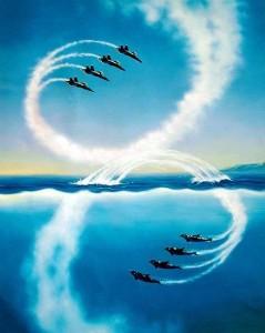 delfini aerei